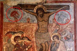 ¿Observaron los extraterrestres desde sus OVNI la crucifixión de Jesús?