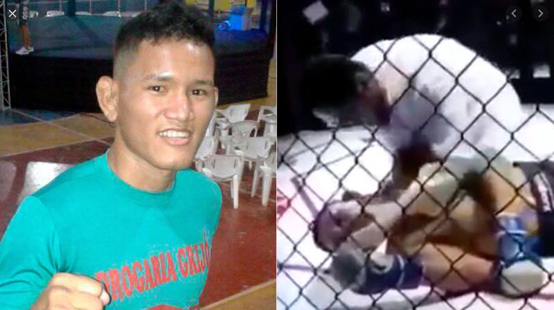 El brasileño Mateus Fernandes sufre un brutal nocaut en la MMA y muere tras cuatro infartos consecutivos