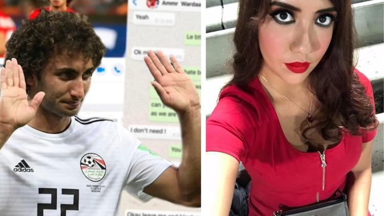 Así acosó sexualmente el futbolista egipcio Amr Warda a la modelo mexicana Giovanna Valdatti