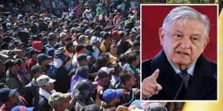 """Gobierno de López Obrador: """"No queremos que los inmigrantes usen México para llegar a EEUU"""""""