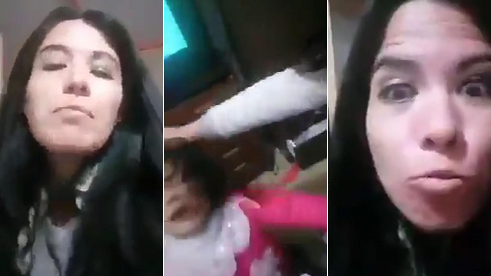 """""""Mirá lo que hago con tu hija"""": Chilena golpea a una niña y envía el vídeo a su expareja"""