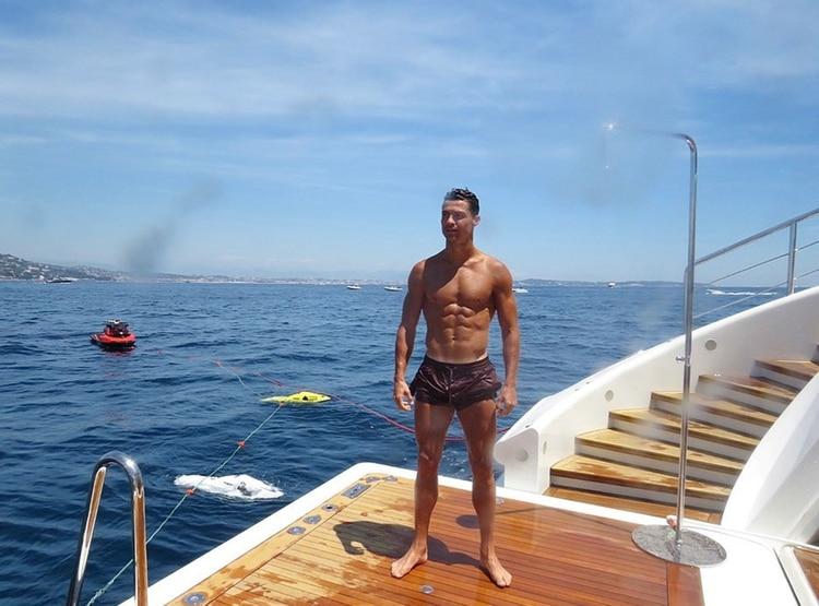Cristiano Ronaldo deja una exorbitante propina en un hotel de Grecia