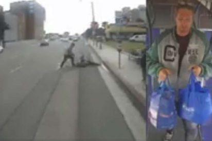 Discute con un señor de 65 años, le pega una paliza que lo deja inconsciente y encima le roba la bicicleta