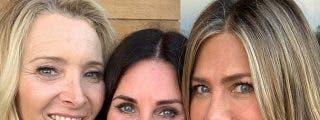 Las chicas de 'Friends' se reencuentran por el cumpleaños de Courteney Cox