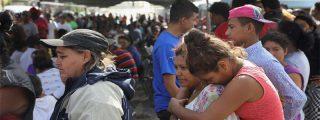 La Policía de México bloque a los indocumentados centroamericanos en terminales de autobuses