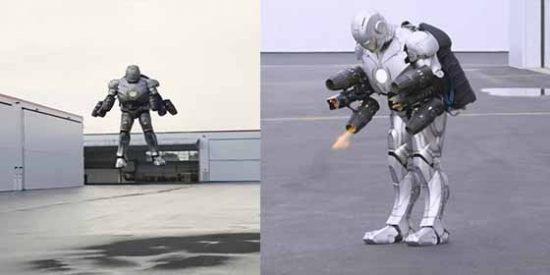 Crean una réplica real de la armadura de Iron Man: Puede volar y es antibalas