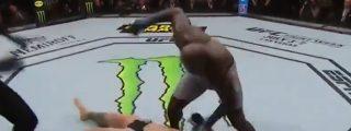 Escalofriante knockout en la UFC: Sólo necesita tres golpes y menos de 10 segundos para derribar a su rival