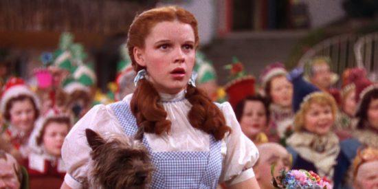 Judy Garland en 'El Mago de Oz'.