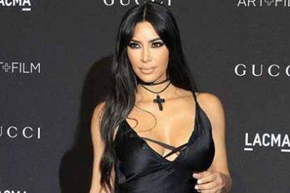 El gelatinoso parachoques de Kim Kardashian encerrado en unos ultrapegados leggins