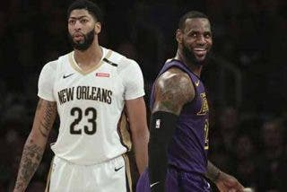 "Terremoto en la NBA: Los Lakers de Lebron James fichan a ""La Ceja"" Anthony Davis"