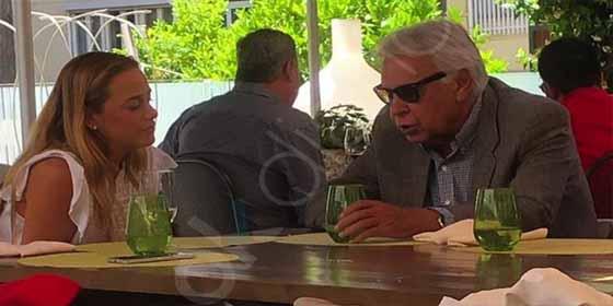 Cese de la usurpación chavista: Lilian Tintori y Felipe González se reunieron en un famoso hotel de Madrid