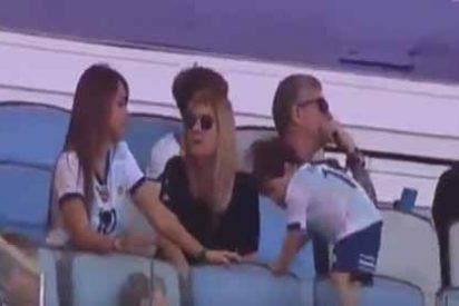 La reacción de Lionel Messi al ver las travesuras de Mateo en la tribuna