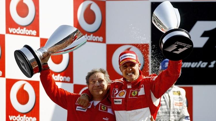 """Exjefe de Ferrari: """"Hay nuevos progresos en el estado de salud de Michael Schumacher"""""""