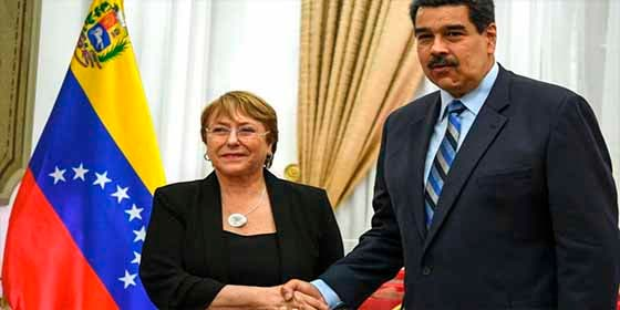 """Quitamos """"derechos humanos"""" y dejamos """"violaciones"""": Así se lee el nauseabundo """"balance"""" de Bachelet para Venezuela"""