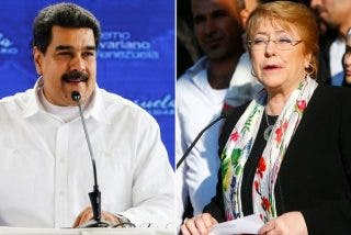 Michelle Bachelet acepta la invitación del dictador Maduro y viajará a Caracas