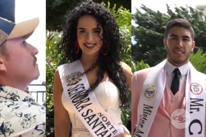 Vídeo: Una miss fue sorprendida por su esposo en plena infidelidad a sólo horas de haber sido coronada