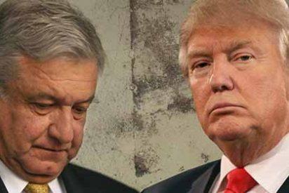 """Hunden al comunista Lopez Obrador por arrodillarse ante Trump: """"Es una traición a la historia de México"""""""