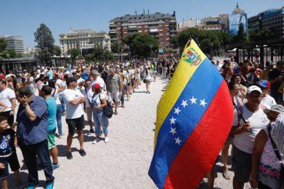 Solicitudes de asilo de venezolanos en España superan las 17.000 y ya duplican las de 2018