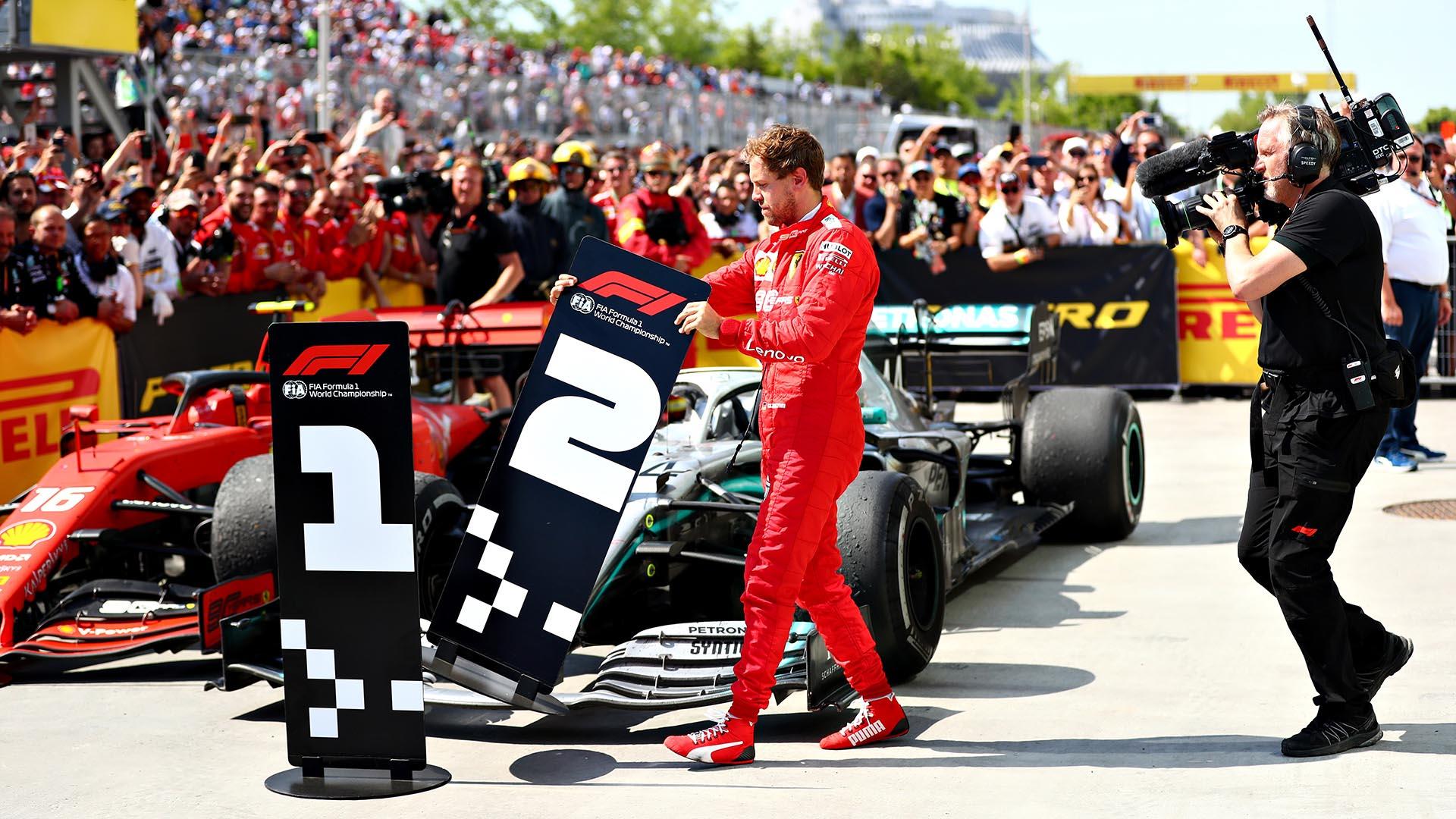 Vídeo: La dura reacción de Vettel al perder una carrera con Hamilton por una sanción de la Fórmula 1