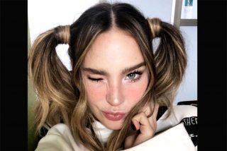 En la cama y con sexy lencería: Belinda pone tiesa a las redes sociales