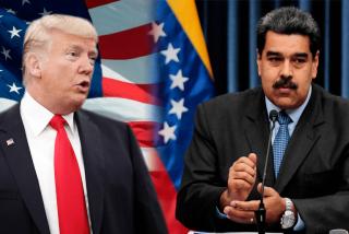 """La nueva carta de Trump para derrocar a Maduro: imponer un """"bloqueo o cuarentena"""" en Venezuela"""