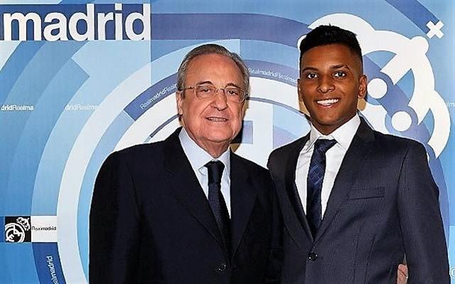 El brasileño Rodrygo saltará por primera vez al césped del Real Madrid