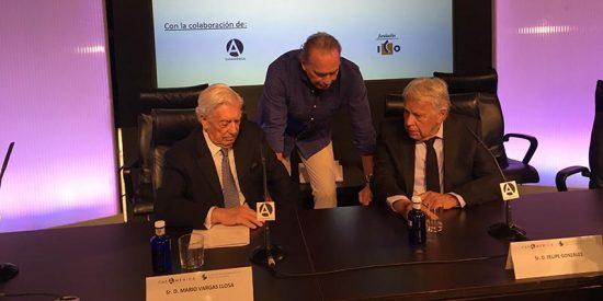 """Mario Vargas Llosa: """"Cuba, Venezuela y Nicaragua son dictaduras, las únicas de América Latina"""""""