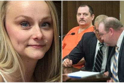 Vídeo: Un acusado de estrangular a una joven se cortó la garganta en pleno juicio