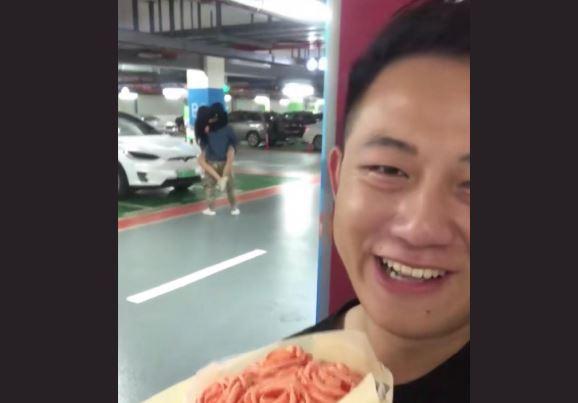 Fotos: Llevó una sorpresa a su novia por su cumpleaños y descubrió que le era infiel