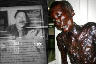 Un caníbal y brutal asesino serial de niños que fue fusilado, ahora es una aterradora momia