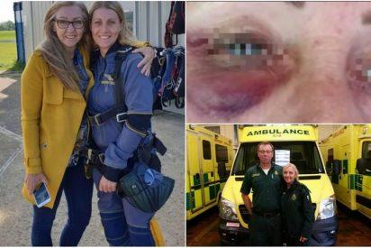 Una paramédico sufre una brutal golpiza de un hombre ebrio al que pretendía salvar