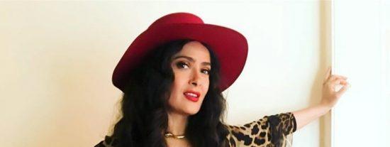 La razón detrás del sorprendente cambio de look de Salma Hayek