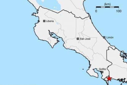 Un fuerte sismo golpea la frontera entre Costa Rica y Panamá