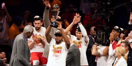 Los Toronto Raptors son campeones de la NBA por primera vez en la historia