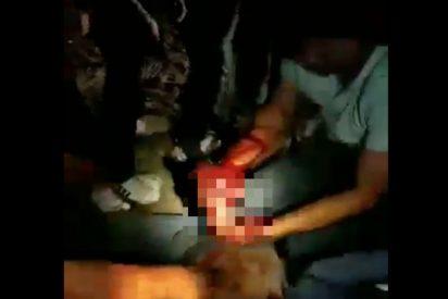 Vídeo: Sicarios mexicanos arrancan el hígado a un hombre aún con vida