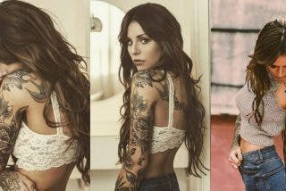 Foto: Cande Tinelli muestra su travieso tatuaje en un sexy bikini