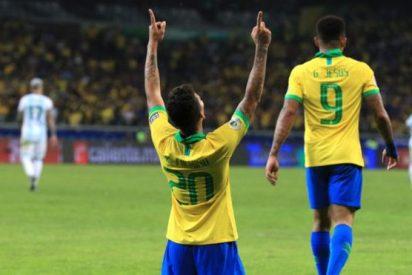 Copa América: Un quirúrgico Brasil destruye los sueños y esfuerzos de Messi y Argentina