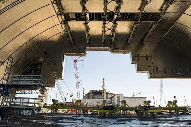 Así es el nuevo sarcófago de 36.000 toneladas que protegerá al mundo de la radiación de Chernobyl