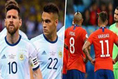 Copa América: Argentina venció a Chile en un partido polémico y con denuncias por