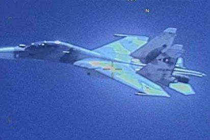 """EEUU denunció que un caza Sukhoi venezolano interceptó """"agresivamente"""" a un avión de su Fuerza Aérea en el Caribe"""
