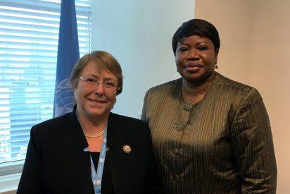 William Cárdenas: Bachelet le hizo el trabajo a Bensouda