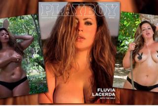 """Ésta es la sexy modelo """"plus size"""" que cambió desnuda la historia de la revista Playboy Brasil"""