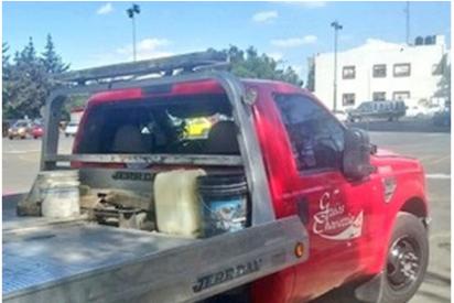 Vídeo: Lanzan el cuerpo de una mujer desde una grúa y es arrollado por su conductor