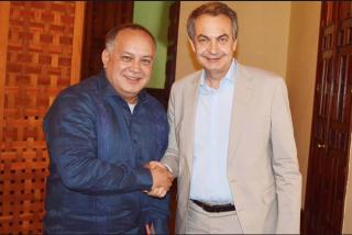 Diosdado Cabello 'revienta' el diálogo que defiende ZP y Sánchez: