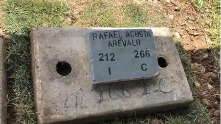 El ataúd sellado donde Nicolás Maduro enterró el cuerpo torturado del capitán Rafael Acosta Arévalo