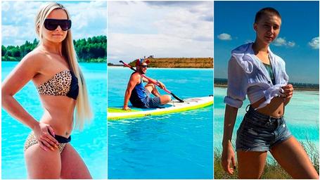 El paradisíaco lago turquesa que aman los instagrammers rusos y su peligroso secreto