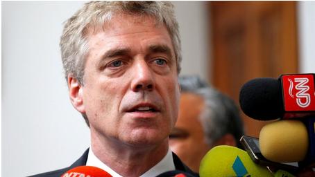Regresa a Caracas el embajador alemán expulsado por Nicolás Maduro