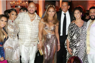 La fiesta de cumpleaños de Jennifer Lopez: cientos de invitados, fuegos artificiales y un Porsche