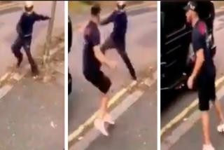 Vídeo: Un futbolista del Arsenal se enfrenta a delincuentes armados para salvar a Mesut Ozil de un robo