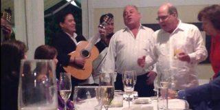 Exclusiva PD: Whiskey, jamón y música en vivo, así fue la fiesta de bienvenida del Embajador chavista Mario Isea a España